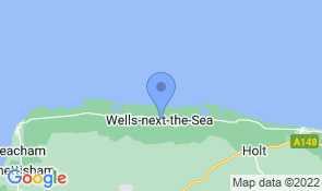 Map of The Old Ship Inn in Wells-next-the-Sea