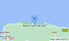 Map of The Albatros in Wells-next-the-Sea