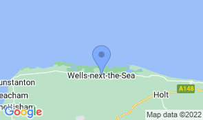 Map of Bosun's Retreat in Wells-next-the-Sea