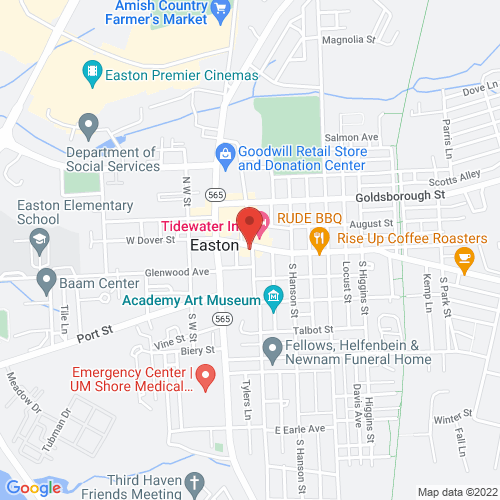 Google Map for Avalon Theatre
