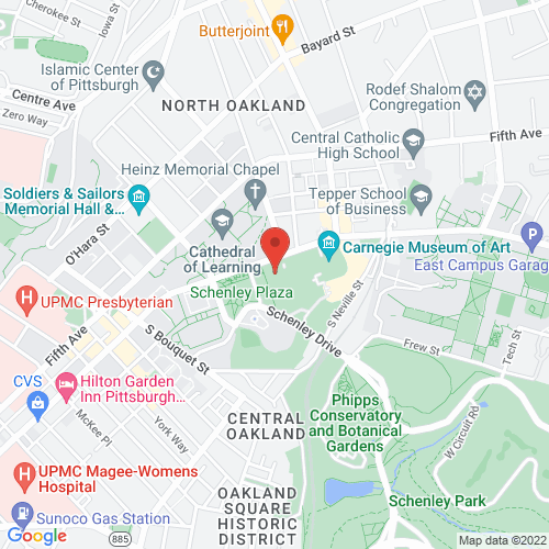 Google Map for Carnegie Music Hall
