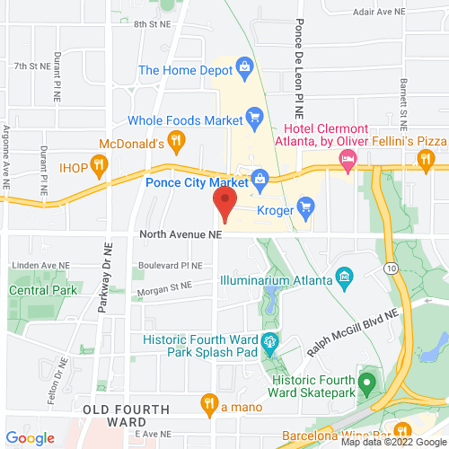 Google Map for City Winery