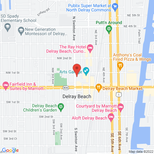 Google Map for Crest Theatre at Old School Square