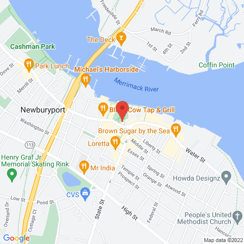 Google Map for Firehouse Center for the Arts