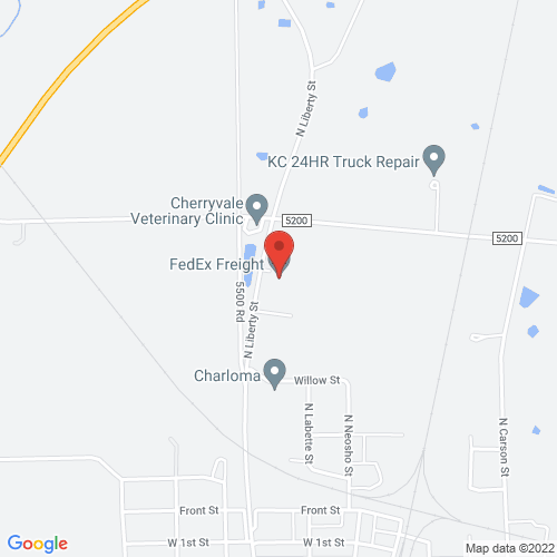 Google Map for Freight & Salvage Coffeehouse