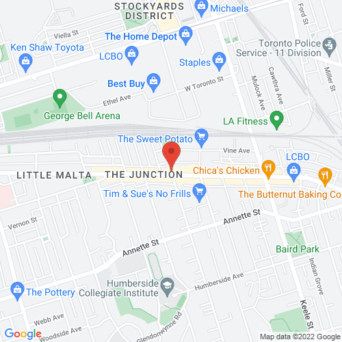 Google Map for Hugh's Room Live