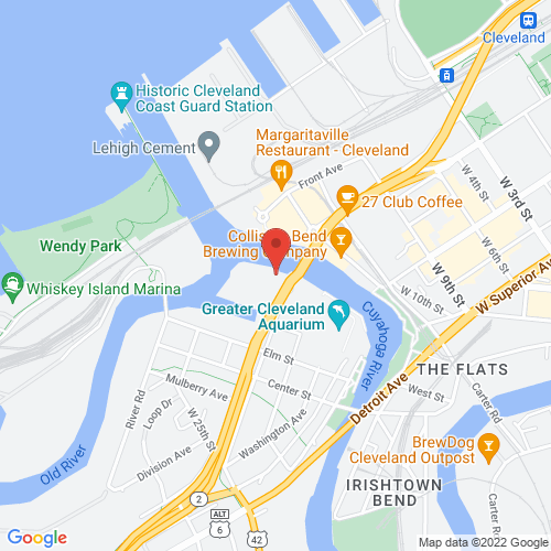 Google Map for Music Box Supper Club