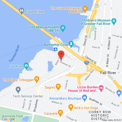Google Map for Narrows Center for the Arts