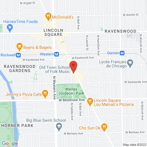 Google Map for Old Town School of Folk Music