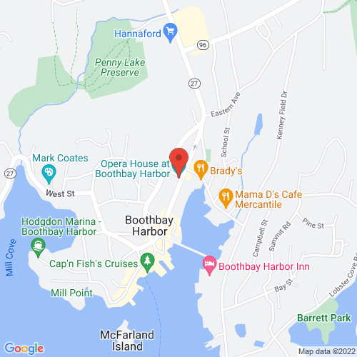 Google Map for Opera House Box Office