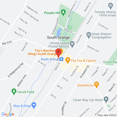 Google Map for SOPAC South Orange Performing Arts Center