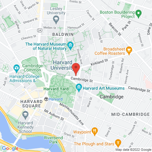 Google Map for Sanders Theatre