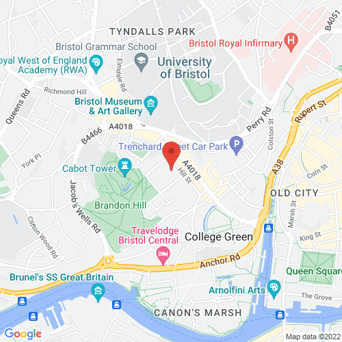 Google Map for St George's Bristol