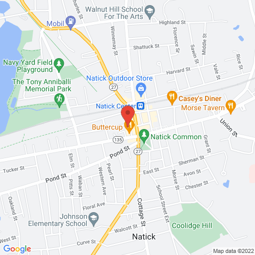 Google Map for The Center for Arts in Natick