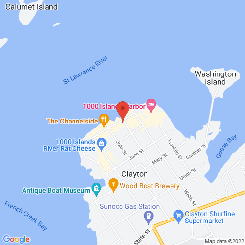 Google Map for The Clayton Opera House