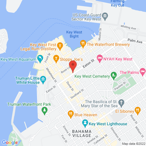 Google Map for The Studios of Key West