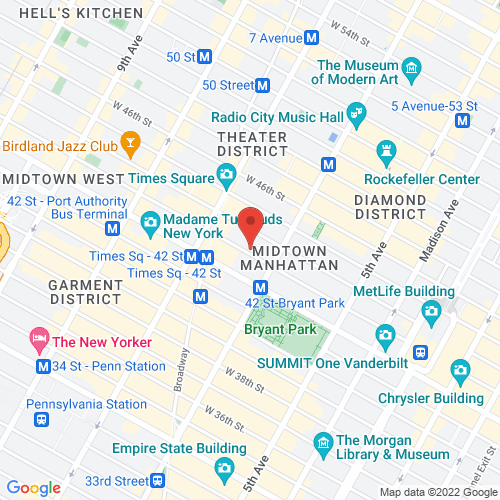Google Map for The Town Hall