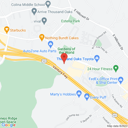 Google Map for Thousand Oaks Civic Arts Plaza