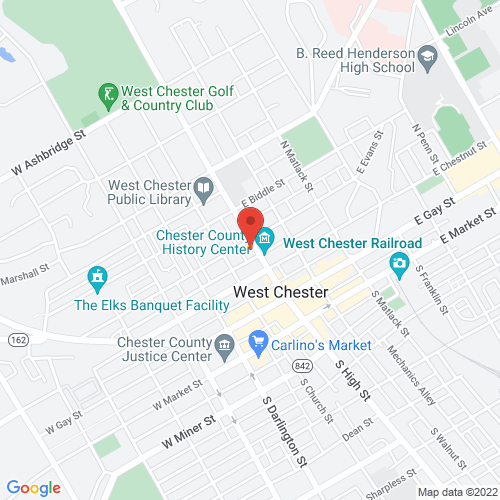 Google Map for Uptown! Knauer Performing Arts Center