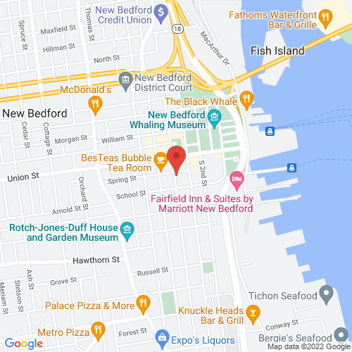 Google Map for Zeiterion Theatre