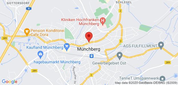 Bestattungsanstalt Pietät Hof/S. GmbH in Münchberg