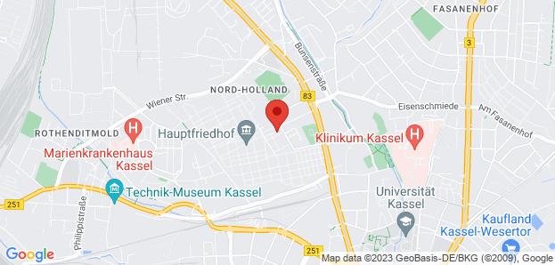 Hauptfriedhof in Kassel