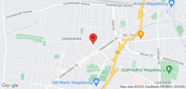 Abschiedshaus in Magdeburg
