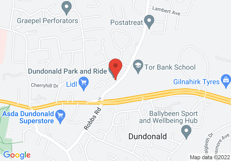 Dundonald Park and Ride, Dunlady Road, Dundonald, Belfast, UK