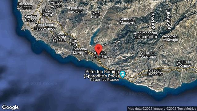 Sanctuary of Aphrodite, Palaipaphos, Kouklia Village | Map