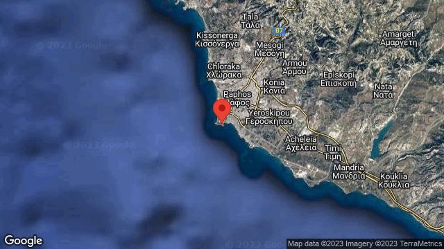Paphos Castle | Map