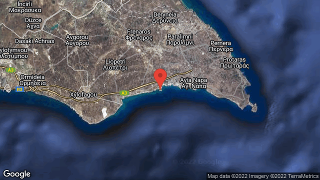Makronissos Tombs | Map