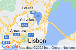 Lisbon Airport Information, location map