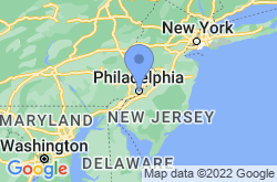 Philadelphia, location map