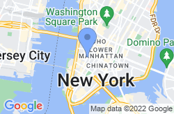 TriBeCa New York, location map