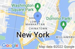 Little Italy New York, location map