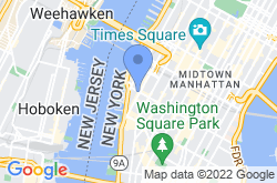 High Line Elevated Park, location map