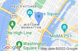 Chrysler Building, location map