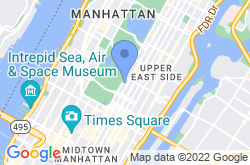 The Frick Collection, location map