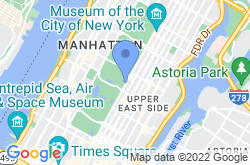Metropolitan Museum of Art, location map