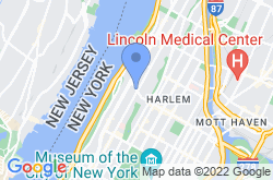 Gospel Church in New York City, location map