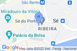 Porto Cathedral – Sé do Porto, location map