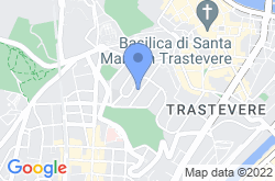 Trastevere, location map