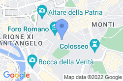 Roman Forum, location map