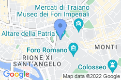 Altare della Patria, location map