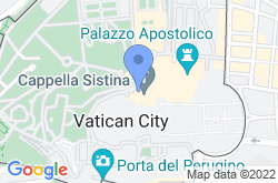 Sistine Chapel, location map