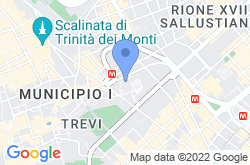 Galleria Nazionale d'Arte Antica, location map