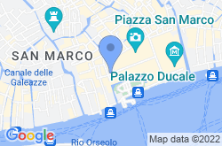 Museo Correr in Venice, location map
