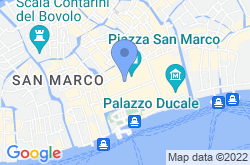 Piazza San Marco, location map