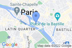 Île Saint-Louis, location map