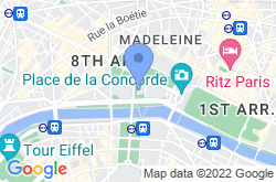 Petit Palais, location map